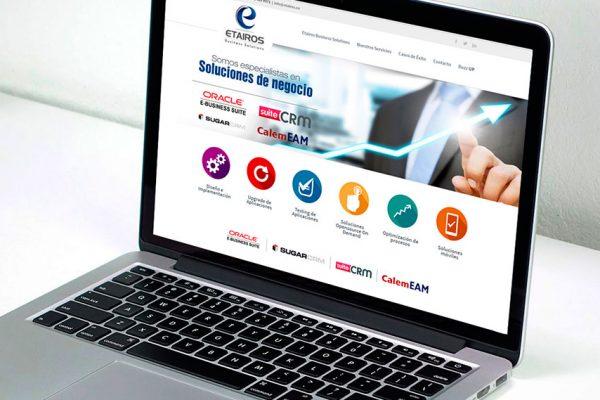 Etairos - página web